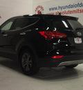 hyundai santa fe sport 2013 twilight black t gasoline 4 cylinders front wheel drive automatic 75150
