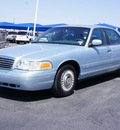 ford crown victoria 1999 lt  blue sedan gasoline v8 rear wheel drive automatic with overdrive 76234