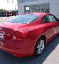 nissan altima 2012 red coupe 2 5s coupe gasoline 4 cylinders front wheel drive not specified 46219
