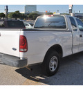 ford f 150 heritage 2004 white pickup truck xl gasoline 8 cylinders rear wheel drive automatic 78217