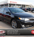 toyota camry 2012 black sedan se limited edition 4 cylinders automatic 76116