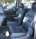 honda odyssey 2006 black van touring dvd gasoline 6 cylinders front wheel drive automatic 55124