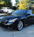 infiniti g37 convertible 2009 black sport gasoline 6 cylinders rear wheel drive automatic 27616