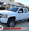 chevrolet silverado 1500 2008 white lt2 8 cylinders automatic 76051