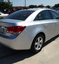 chevrolet cruze 2011 silver sedan lt fleet 4 cylinders automatic 78130