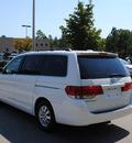 honda odyssey 2009 white van ex l w navi w dvd gasoline 6 cylinders front wheel drive automatic 27511
