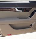 mercedes benz c class 2009 white sedan c300 luxury 6 cylinders autostick 77065