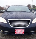 chrysler 200 2013 dk  blue sedan limited flex fuel 6 cylinders front wheel drive automatic 44024