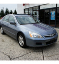 honda accord 2007 cool blue sedan ex gasoline 4 cylinders front wheel drive 5 speed automatic 07724