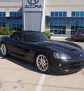 dodge viper 2004 black srt10 10 cylinders 5 speed manual 76137