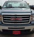gmc sierra 1500 2012 blue work truck gasoline 6 cylinders 2 wheel drive automatic 77521