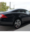 mercedes benz cls class 2009 black coupe cls550 gasoline 8 cylinders rear wheel drive automatic 76513