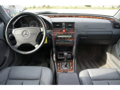 mercedes benz c class 1998 white sedan c230 4 cylinders automatic 77094