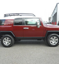 toyota fj cruiser 2009 dk  red suv 6 cylinders automatic 75672