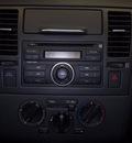 nissan versa 2009 lt  blue hatchback 1 8 s gasoline 4 cylinders front wheel drive automatic 76116