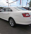 ford taurus 2010 white sedan limited 6 cylinders automatic 13502