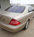 mercedes benz s class 2004 gold sedan s430 4matic 8 cylinders 5 spd automatic 76108