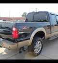 ford f 350 super duty 2011 black king ranch lariat biodiesel 8 cylinders 4 wheel drive shiftable automatic 75041