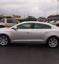buick lacrosse 2011 silver sedan cxl gasoline 6 cylinders front wheel drive shiftable automatic 77074
