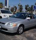 honda civic 1998 silver coupe ex gasoline 4 cylinders front wheel drive 5 speed manual 94063