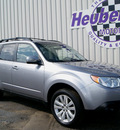 subaru forester 2011 steel silver 2 5x premium gasoline 4 cylinders all whee drive 5 speed manual 80905