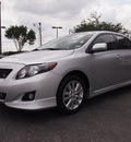 toyota corolla 2010 silver sedan s gasoline 4 cylinders front wheel drive automatic 75075