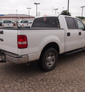ford f 150 2005 white xlt gasoline 8 cylinders rear wheel drive automatic 78861