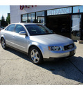 audi a4 2004 light silver sedan 1 8t quattro gasoline 4 cylinders all whee drive automatic 07724