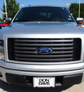ford f 150 2011 silver fx2 8 cylinders automatic 76011