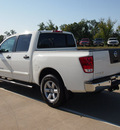 nissan titan 2011 white sv 8 cylinders automatic with overdrive 77656