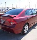 honda civic 2008 maroon sedan ex 4 cylinders automatic 75007