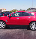 cadillac srx 2010 red suv premium collection 6 cylinders shiftable automatic 77074