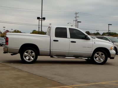 dodge ram 1500 2003 white pickup truck slt 8 cylinders automatic 62034