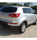 kia sportage 2011 silver suv lx 4 cylinders automatic with overdrive 77706