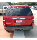 ford explorer 2006 red suv xlt 8 cylinders automatic with overdrive 77706