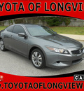 honda accord 2009 dk  gray coupe ex l 4 cylinders automatic 75604