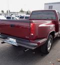 chevrolet 1500 silverado 1989 maroon pickup truck 4x4 gasoline v8 4 wheel drive automatic 98371