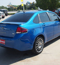 ford focus 2011 blue sedan sport ses 4 cylinders automatic 77388