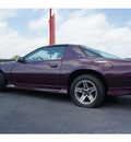 chevrolet camaro 1992 purple hatchback rs v8 6 speed manual 76543