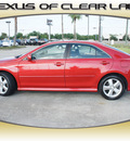 toyota camry 2010 red sedan se v6 gasoline 6 cylinders front wheel drive automatic 77546