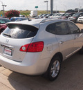 nissan rogue 2012 silver sv gasoline 4 cylinders front wheel drive automatic 76116