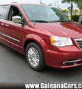 chrysler town and country 2012 red van limited flex fuel 6 cylinders front wheel drive automatic 33912