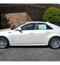 cadillac cts 2013 white sedan 3 6l premium 6 cylinders automatic 76903