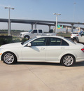 mercedes benz c class 2009 white sedan 4dr sdn awd 3 0l gasoline 6 cylinders all whee drive automatic 76137