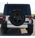 jeep wrangler unlimited 2009 silver suv x gasoline 6 cylinders 2 wheel drive automatic 76543