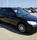 honda civic 2005 black sedan ex special edition gasoline 4 cylinders front wheel drive automatic 75110