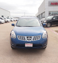 nissan rogue 2008 blue suv sl 4 cylinders automatic 76116
