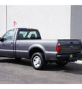 ford f 250 super duty 2008 dk  gray pickup truck xl 10 cylinders rear wheel drive automatic 79407