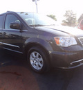 chrysler town and country 2012 gray van touring flex fuel 6 cylinders front wheel drive shiftable automatic 45344