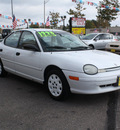 plymouth neon 1998 white sedan highline 4 cylinders automatic 80229